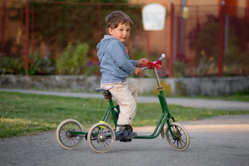 Extérieur Tricycle